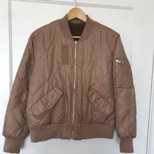 Whistles size M reversible bomber jacket